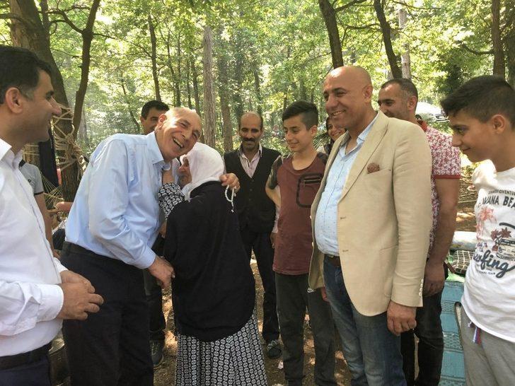 Milletvekili Kartal, İstanbul'daki Vanlı hemşerileri ile bir araya gerdi