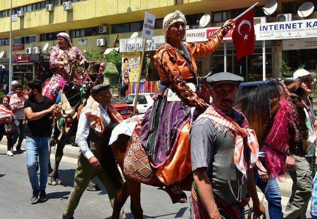 Muğla'da Yörük göçü canlandırıldı