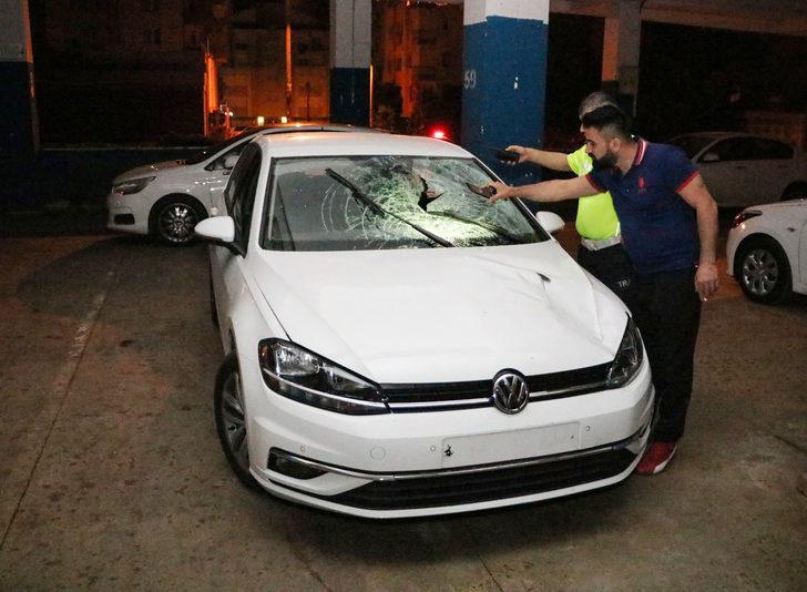 Otomobilin çarptığı savcı yaralandı
