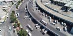 Tatilciler erken döndü, trafikte yoğunluk olmadı