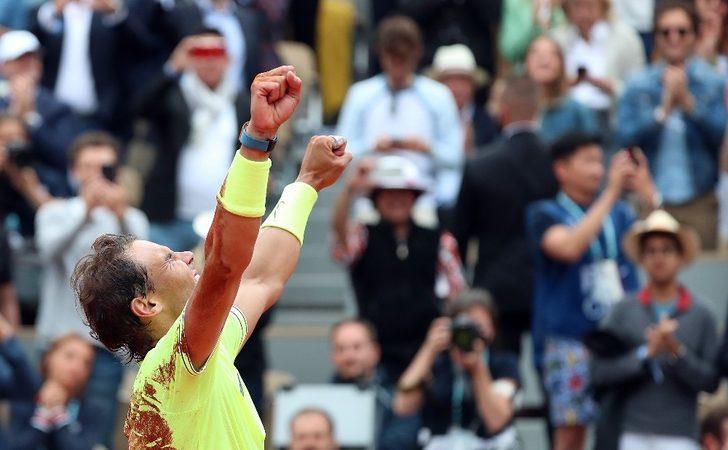 Fransa Açık'ta şampiyon Nadal