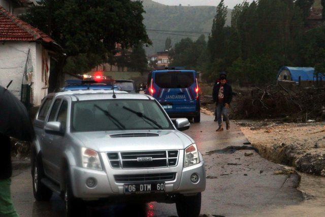 Ankara'da sağanak sele neden oldu (3)
