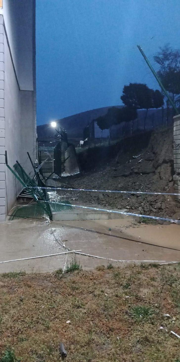 Kırıkkale'de sağanak sele neden oldu