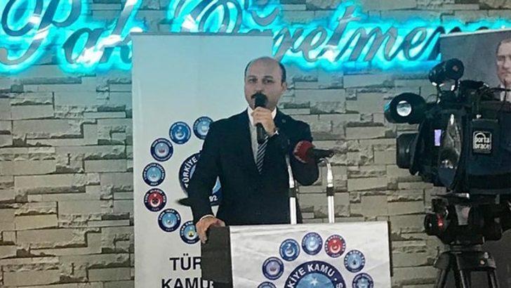 Türkiye Kamu Sen Genel Sekreteri Talip Geylan:
