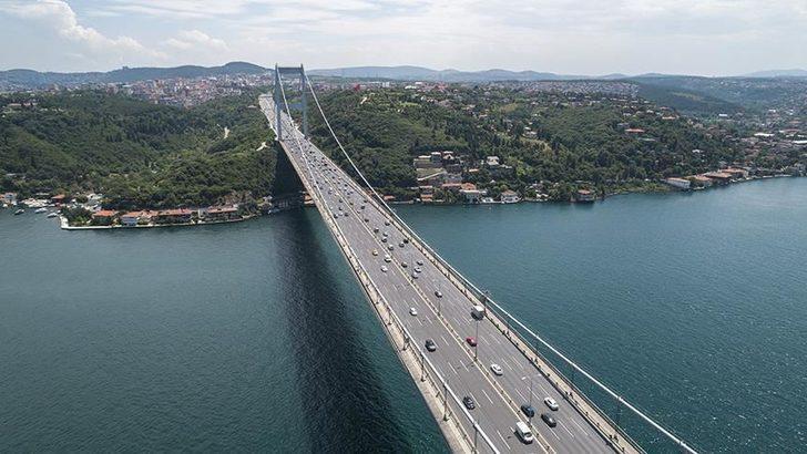 Araçlar için Boğaz köprülerinden geçiş düzenlemesi