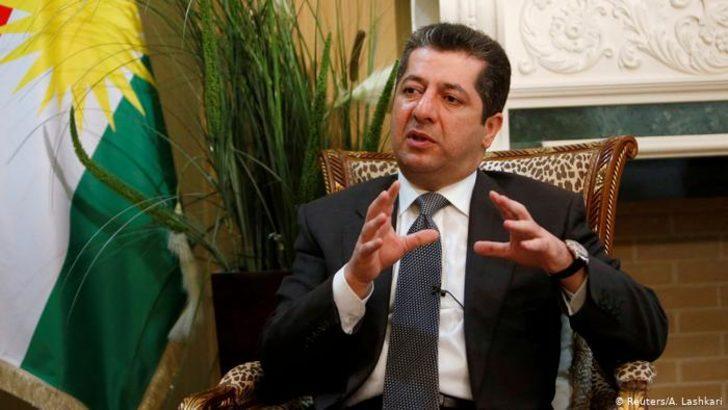 IKBY'nin yeni başbakanı Mesrur Barzani