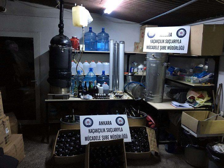 Sağlık malzemesi satan iş yerine 'sahte içki' operasyonu: 3 gözaltı