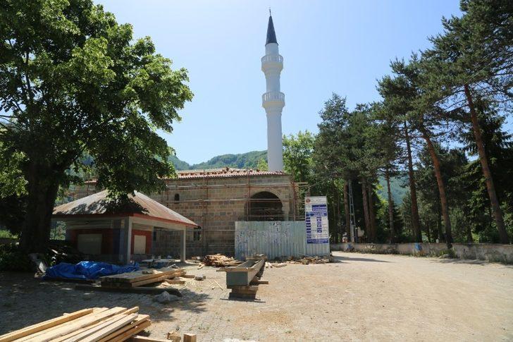 Asırlık camiye restorasyon