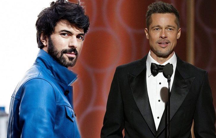 Engin Akyürek, Brad Pitt'i solladı!