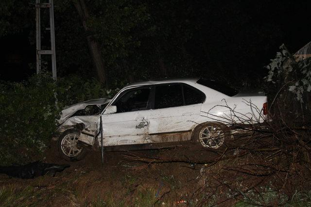 Tokat'ta zincirleme kaza: 4 yaralı
