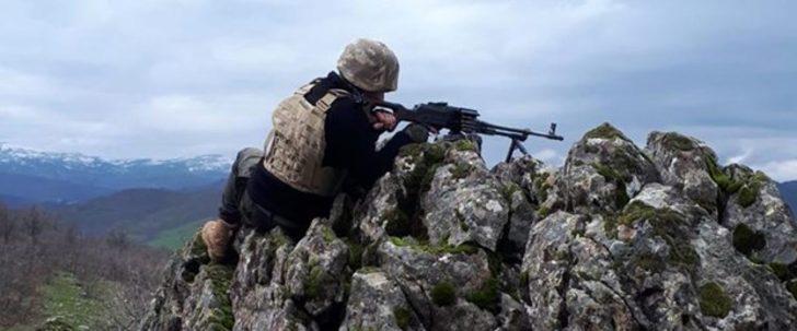 İçişleri Bakanlığı: Hava destekli operasyonlarda 4 terörist etkisiz hale getirildi