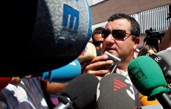 CAS, Mino Raiola'ya verilen 3 aylık cezayı askıya aldı