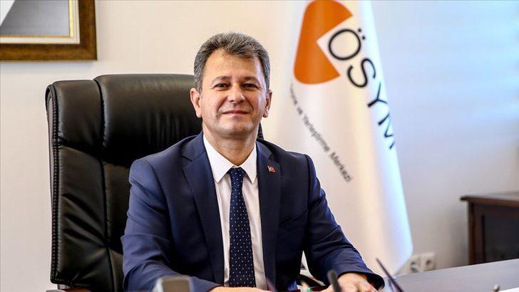 ÖSYM Başkanı Aygün'den YKS ve askeri öğrenci sınavıyla ilgili açıklama