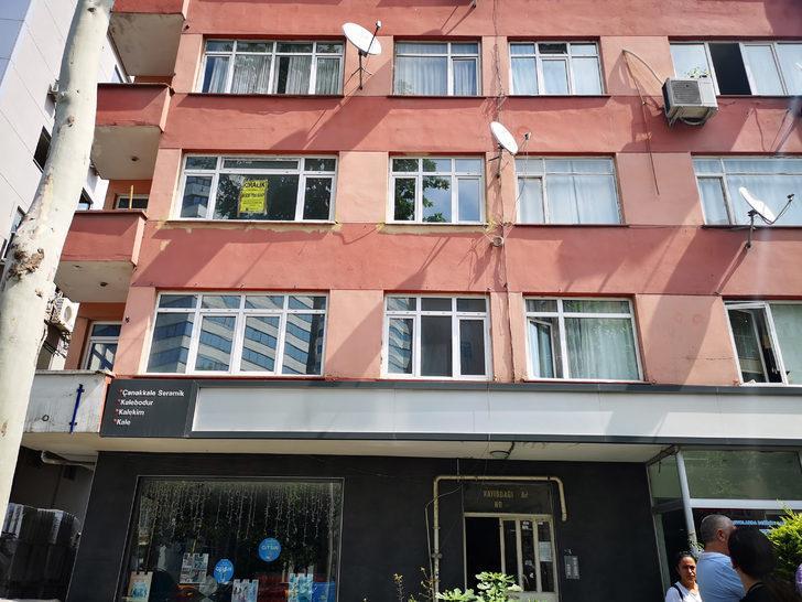 Ataşehir'de riskli binanın boşaltılması sırasında arbede çıktı