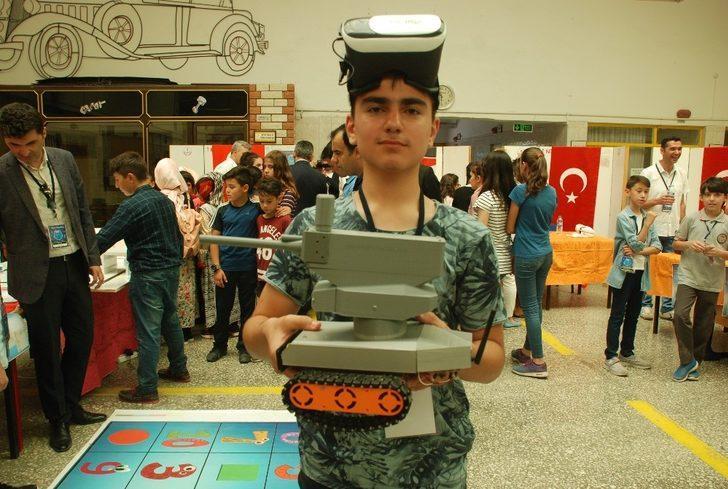 Şehit haberlerinden etkilendi, askeri müdahale robotu tasarladı