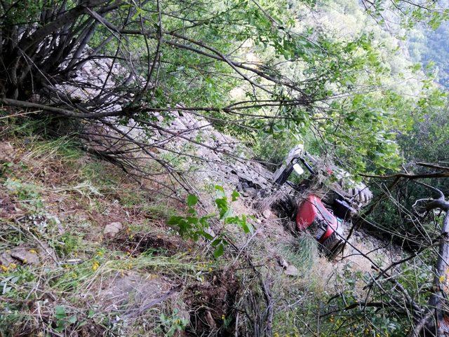 Traktörle uçurumdan yuvarlanan 15 yaşındaki Mustafa öldü