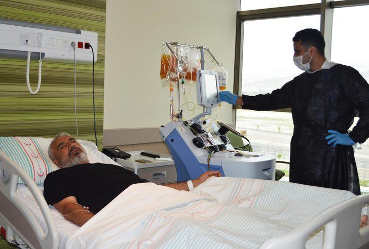 Kayseri'de 3 ayda 9 KKKA'lı hasta sağlığına kavuştu