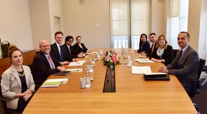 Cumhurbaşkanlığı Başdanışmanı Aybet, ABD Dışişleri Bakanlığı Terörle Mücadele Koordinatörü Sales ile görüştü