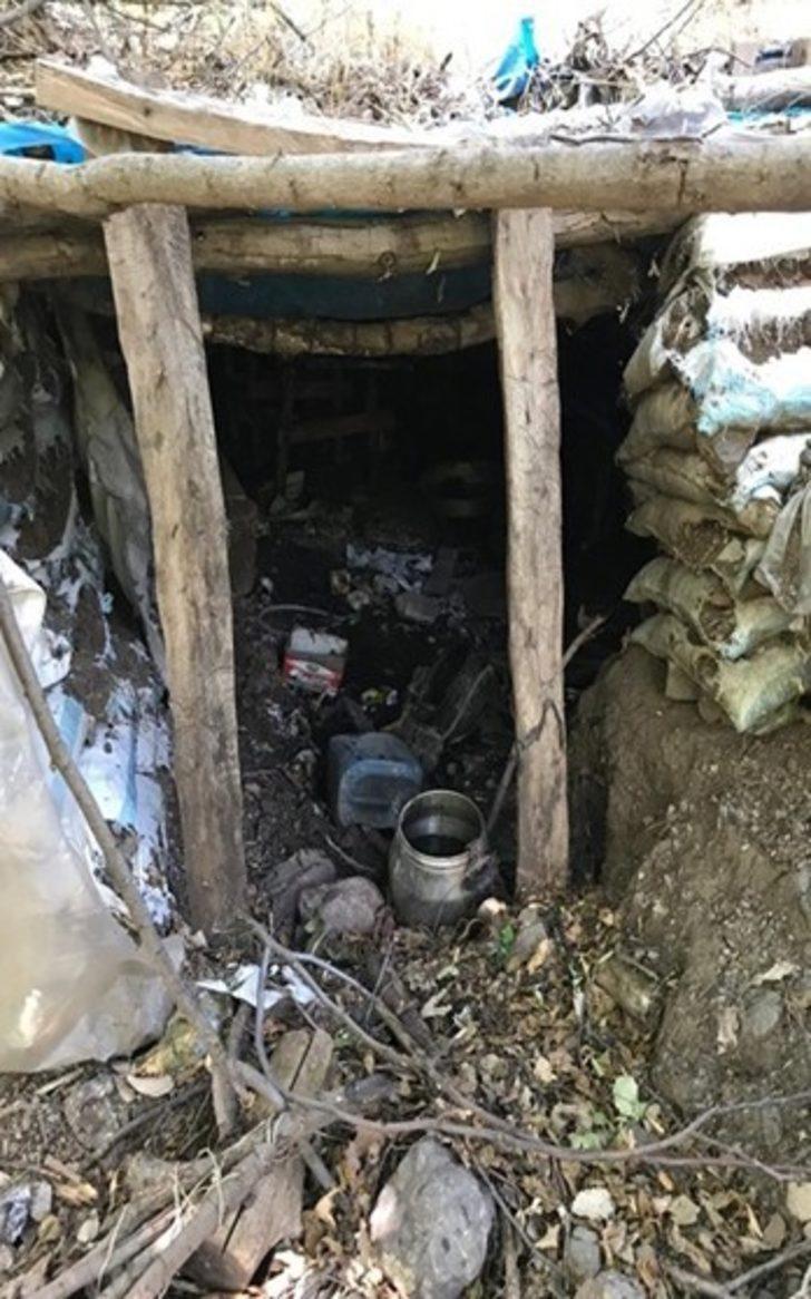 Pençe Harekâtı'nda 118 mağara ve sığınak imha edildi