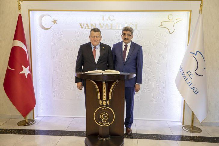 Yargıtay Başkanı Cirit, Vali Bilmez'i ziyaret etti