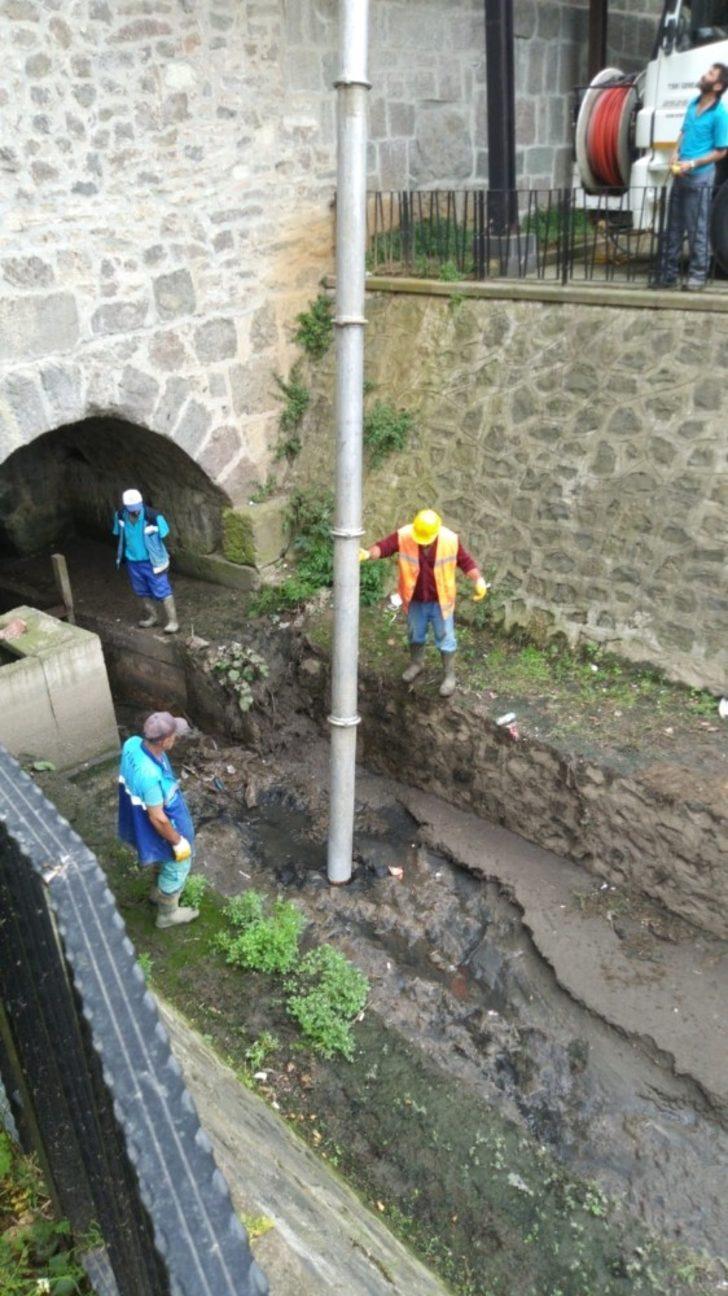 Zağnos Vadisi'ndeki kanalizasyon ve yağmur suyu hatları ayrılıyor