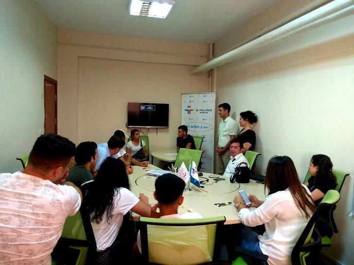 Mersin İŞKUR İş Kulübü, çocuk evlerinde kalan gençleri iş gücü piyasasına hazırlıyor