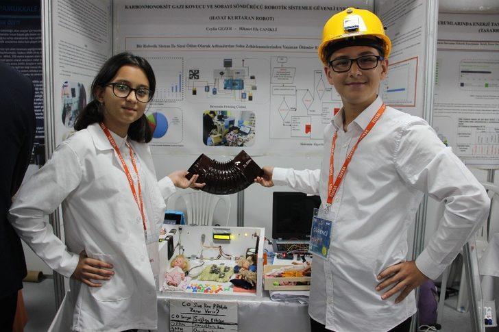 Öğrencilerden hayat kurtaran proje