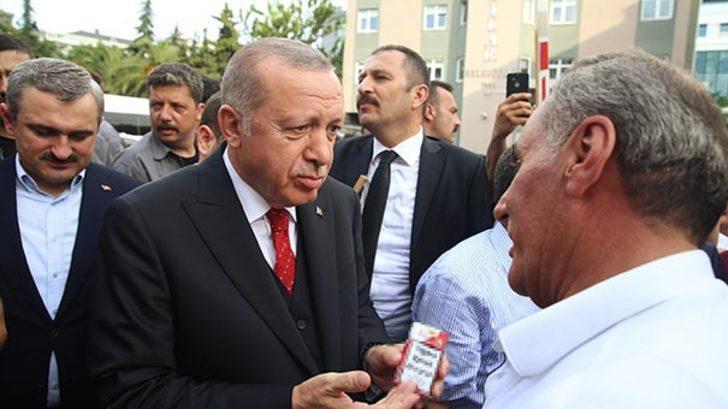 Cumhurbaşkanı Erdoğan sigara paketini görünce hemen uyardı