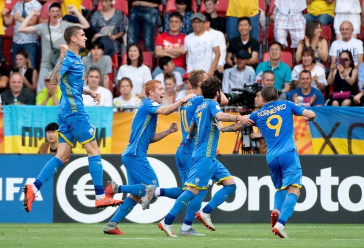 Ukrayna U20 3 - 1 Güney Kore U20