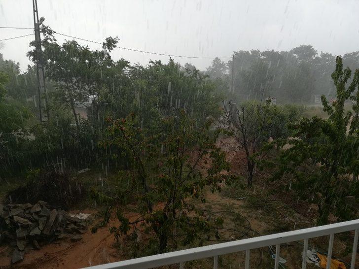 Aydın ve İzmir'de etkili yağış
