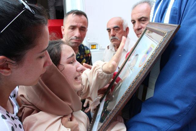 Kazada ölen uzman çavuş, Tokat'ta toprağa verildi