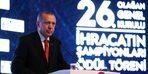 """Cumhurbaşkanı Erdoğan: """"İhracatçılarımız döviz alırken binde 1'lik kambiyo vergisi ödemeyecek"""""""