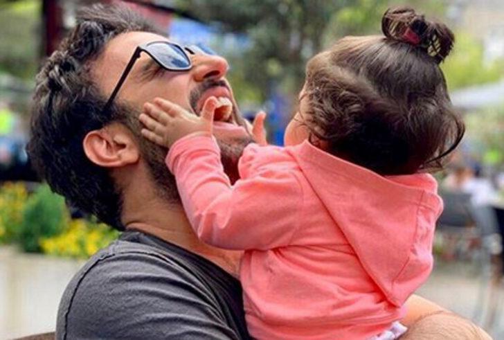 Tarkan'dan kızı Liya ile Babalar Günü paylaşımı