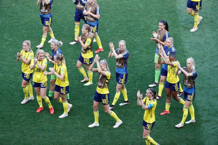 Kadınlar Dünya Kupası'nda İsveç ve ABD, son 16'da