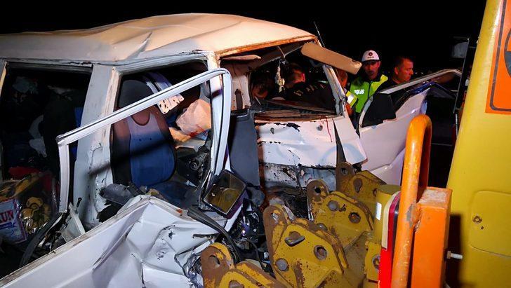 Aksaray'da trafik kazası: 3'ü çocuk 7 yaralı