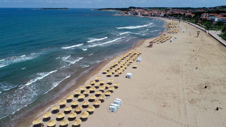 Kocaeli'nin 'Mavi Bayraklı' plajları Akdeniz'i aratmıyor!