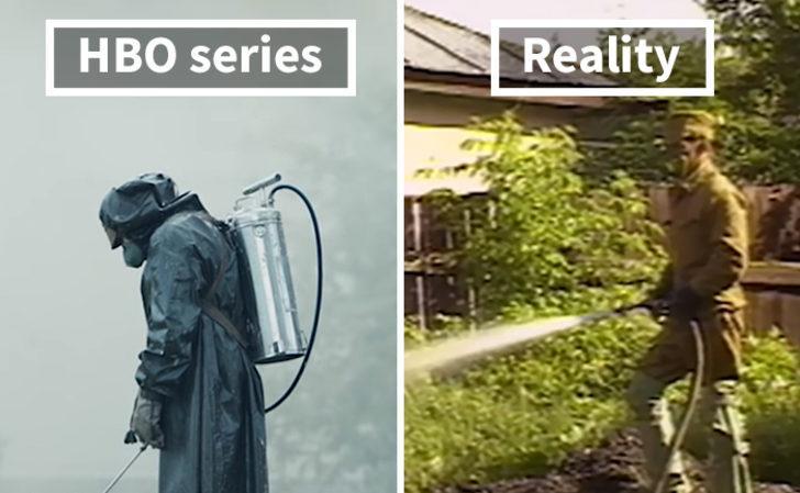 Çernobil dizisindeki sahnelerin gerçek hallerini hiç merak ettiniz mi?