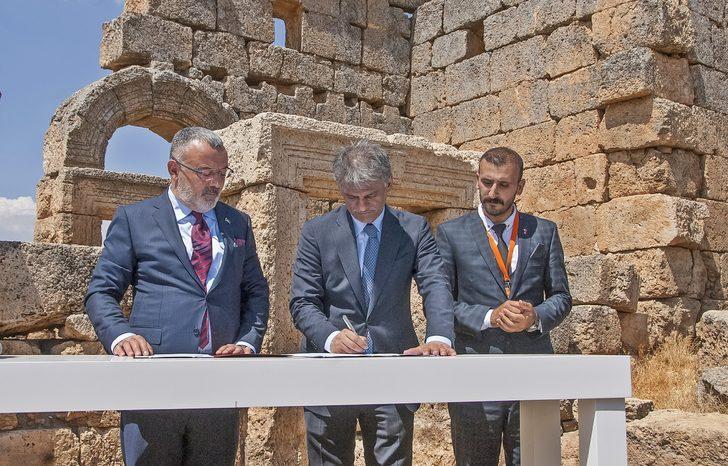Zerzevan Kalesi'ndeki kazılara 20 yıllık sponsorluk
