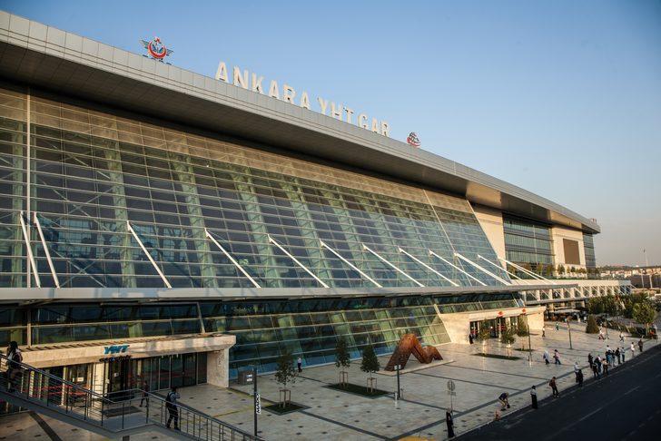 Türkiye'nin Leed sertifikalı ilk tren istasyonun Ankara Yüksek Hızlı Tren Garı olduğu açıklandı