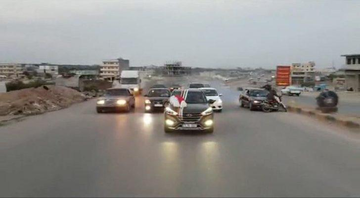Düğün konvoyunda makas atan sürücünün çarptığı motosikletli öldü