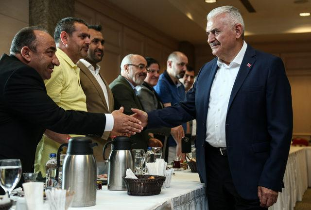 Yıldırım Ordulu STK başkan ve temsilcileriyle buluştu