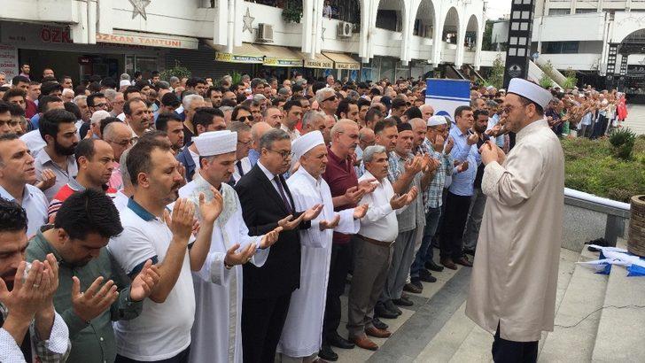 Mursi için Mersin'de gıyabi cenaze namazı kılındı