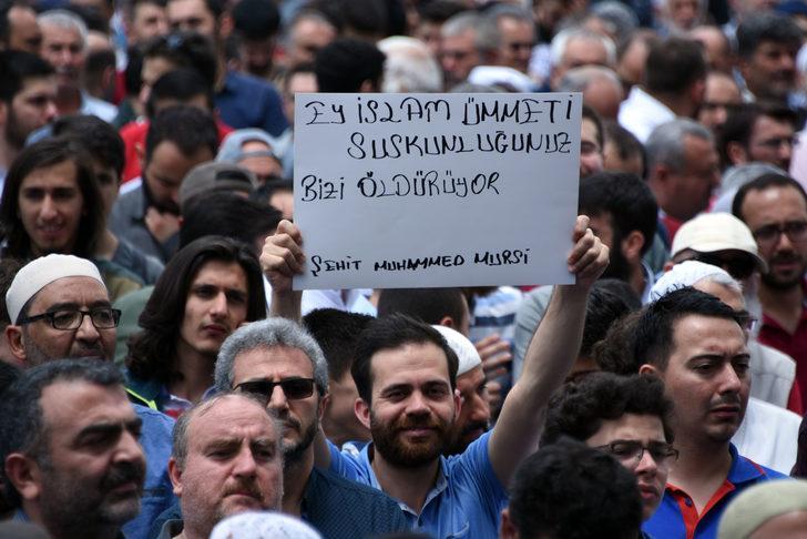 Konya'da Mursi için gıyabi cenaze namazı