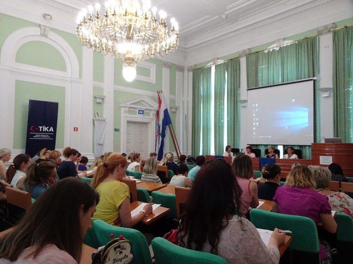 TİKA'dan Hırvatistan'da kadınlara girişimcilik eğitimi