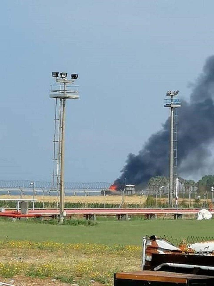 BOTAŞ Terminali Sosyal Tesislerinde lokanta yangını