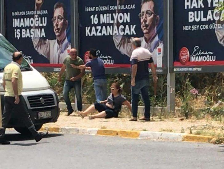 (Özel) Eşini sokak ortasında bıçaklayan adam yakalandı