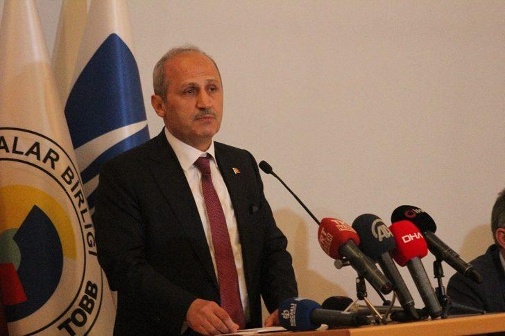 Ulaştırma ve Altyapı Bakanı Mehmet Cahit Turhan yeni demiryolu projesinin ayrıntılarını açıkladı
