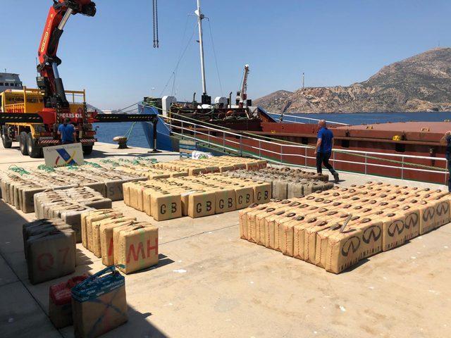 Narkotik, uluslararası sularda 12 ton toz esrar ele geçirilmesini sağladı