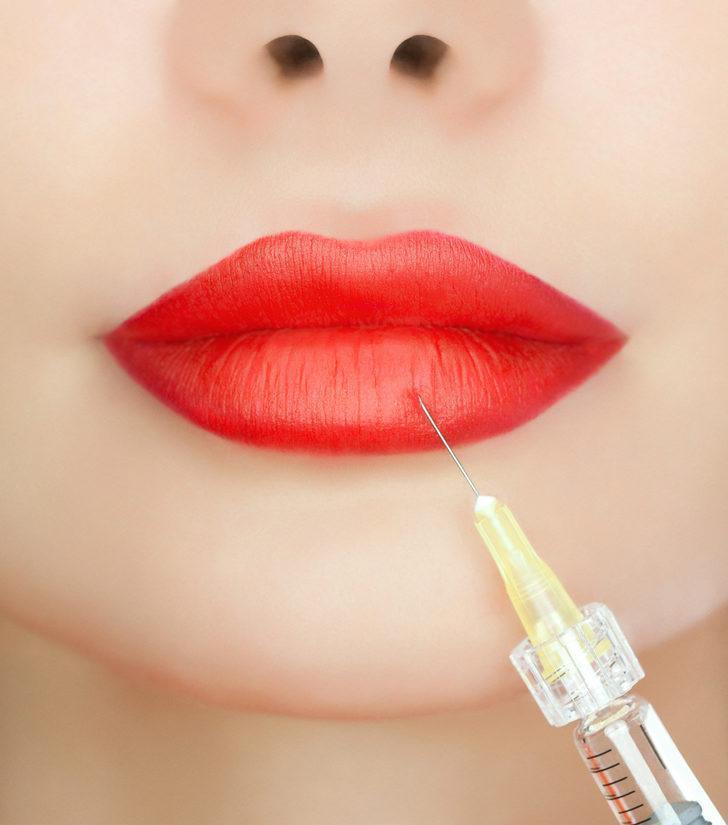 Doğal görünümde dudak tasarımı önemli!