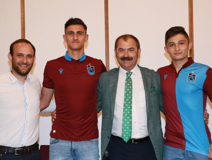Trabzonspor Salih Kavrazlı ve Atakan Gündüz ile sözleşme imzaladı